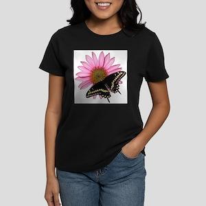 Purple Coneflower/Black Swallowtail T-Shirt