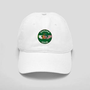 Ireland USA Connection Claddagh Cap