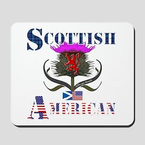 Scottish American Thistle Mousepad