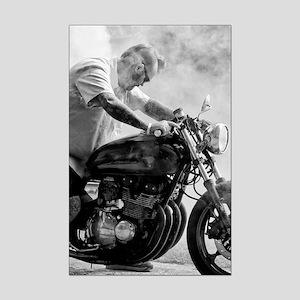 Smoke Rider Mini Poster Print
