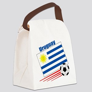 Uruguay Soccer Team Canvas Lunch Bag