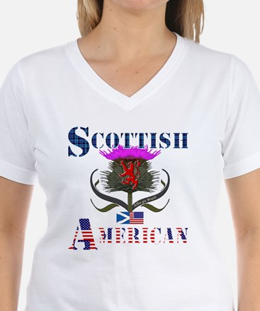 Scottish American Thistle Shirt