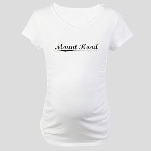 Mount Hood, Vintage Maternity T-Shirt