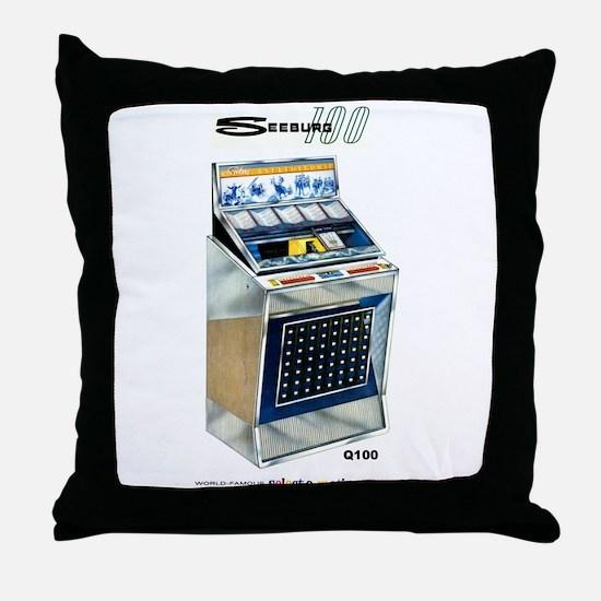 Q100 Throw Pillow