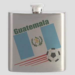 Guatemala Soccer Team Flask