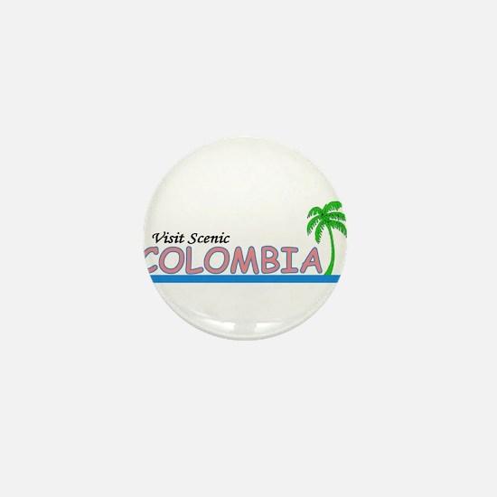 Unique Columbian Mini Button