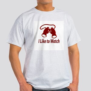 """I Like to Watch"" Ash Grey T-Shirt"