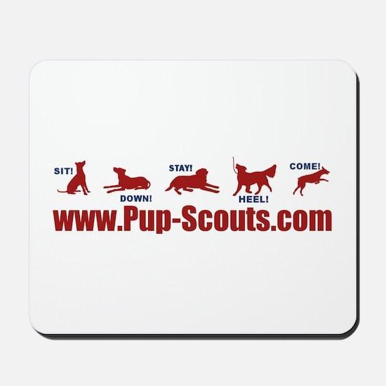 Pup Scouts Mousepad