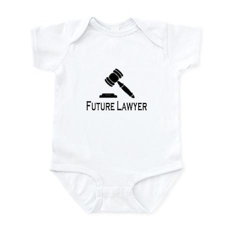 """Future Lawyer"" Infant Creeper"