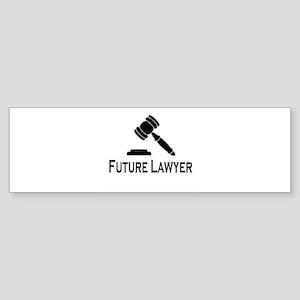"""Future Lawyer"" Bumper Sticker"