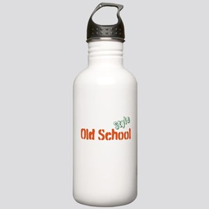 Old School Style Stainless Water Bottle 1.0L