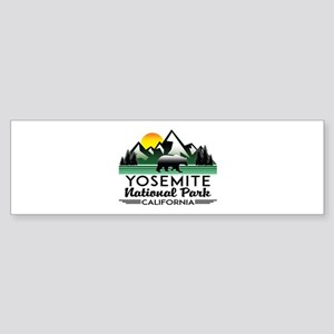 Yosemite National Park California B Bumper Sticker
