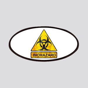 biohazard sign Patches
