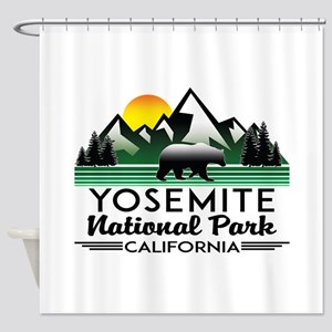 Yosemite National Park California B Shower Curtain
