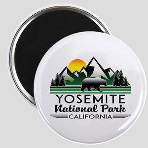 Yosemite National Park California Bear Nat Magnets