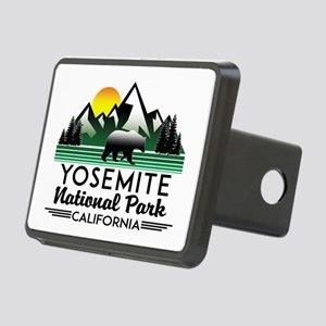 Yosemite National Park Cal Rectangular Hitch Cover