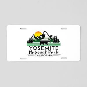 Yosemite National Park Cali Aluminum License Plate