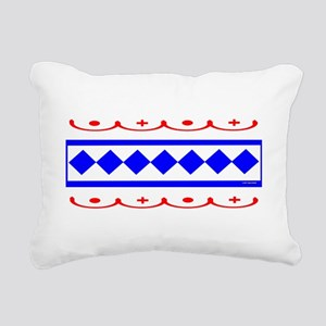 CHOCTAW INDIAN Rectangular Canvas Pillow