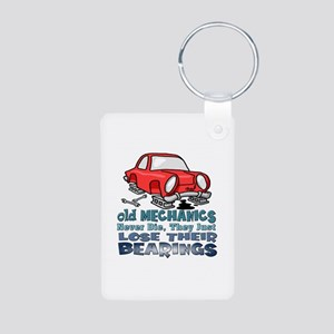 Mechanic Aluminum Photo Keychain