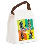 Monsters Rock Canvas Lunch Bag
