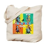 Monsters Rock Tote Bag