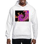 Cosmic Sunset Hooded Sweatshirt-Ash Grey