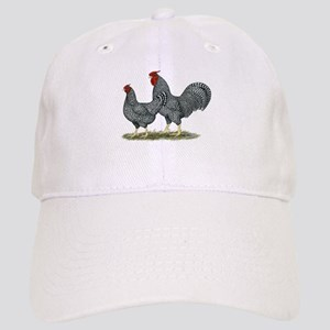 Dominique Chickens Cap