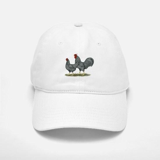 Dominique Chickens Cap