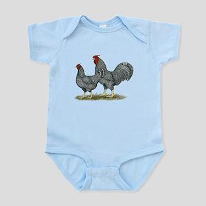 Dominique Chickens Infant Bodysuit