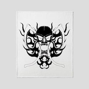 Reaper 4 Throw Blanket