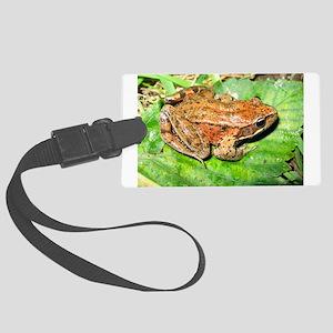 Froggy Large Luggage Tag