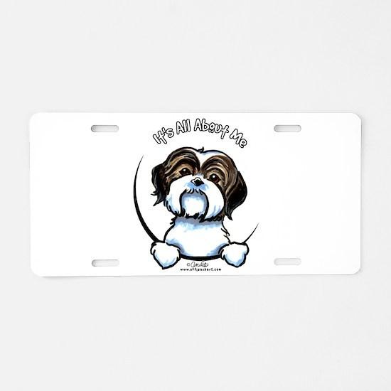Shih Tzu IAAM Aluminum License Plate