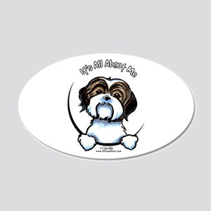 Shih Tzu IAAM 20x12 Oval Wall Decal