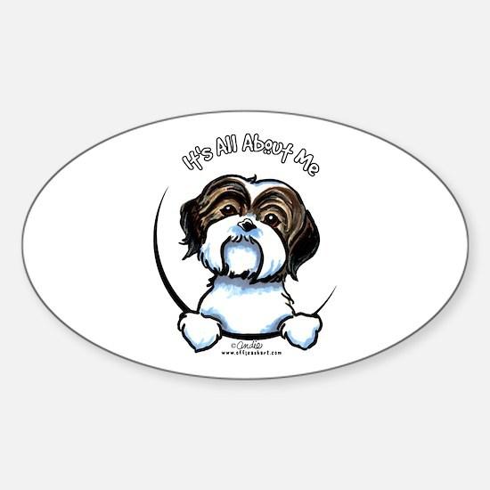 Shih Tzu IAAM Sticker (Oval)