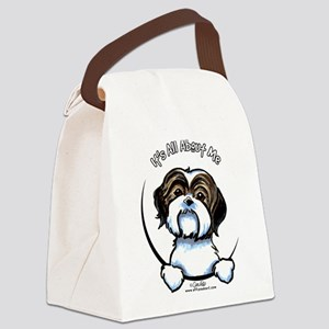 Shih Tzu IAAM Canvas Lunch Bag