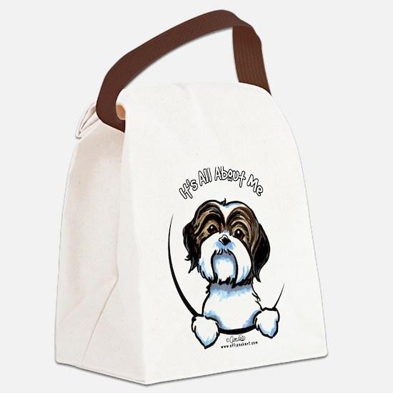 Shih Tzu IAAM Canvas Lunch Bag
