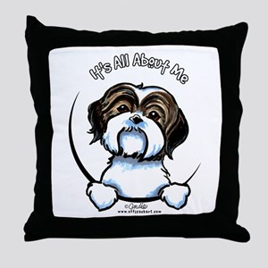 Shih Tzu IAAM Throw Pillow