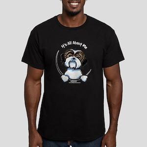 Shih Tzu IAAM Men's Fitted T-Shirt (dark)