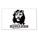 Jesus Christ Revolation Sticker (Rectangle 10 pk)