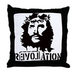 Jesus Christ Revolation Throw Pillow