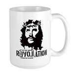 Jesus Christ Revolation Large Mug