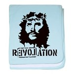 Jesus Christ Revolation baby blanket