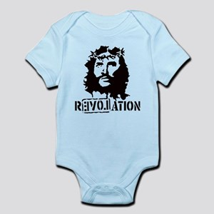 Jesus Christ Revolation Infant Bodysuit