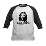 Jesus Christ Revolation Kids Baseball Jersey