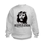 Jesus Christ Revolation Kids Sweatshirt