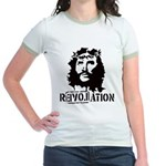 Jesus Christ Revolation Jr. Ringer T-Shirt
