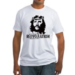 Jesus Christ Revolation Fitted T-Shirt