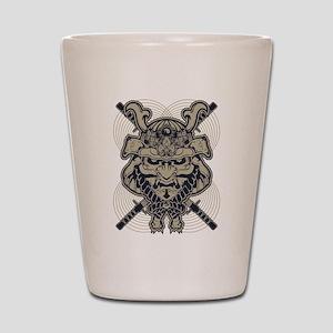 Samurai Rising Shot Glass