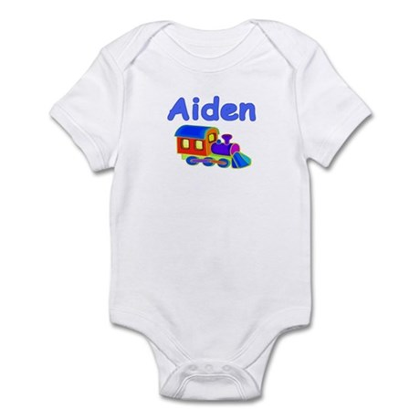 Train Engine Aiden Infant Creeper