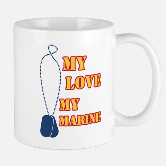 my love my marine Mug